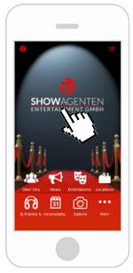 Die ShowAgenten App