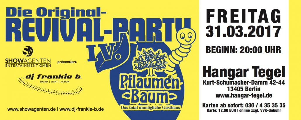 Pflaumen-Baum Revival Party 4
