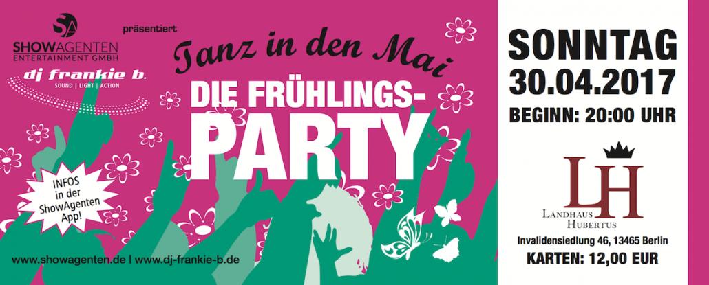 SHOWAGENTEN - Tanz in den Mai 2017