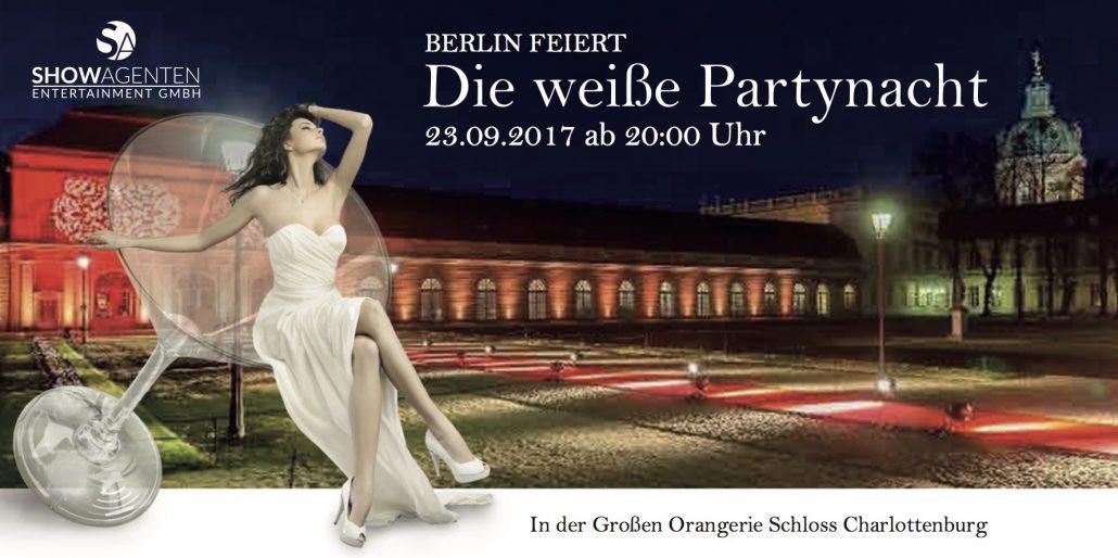 Die weiße Partynacht im Schloss Charlottenburg
